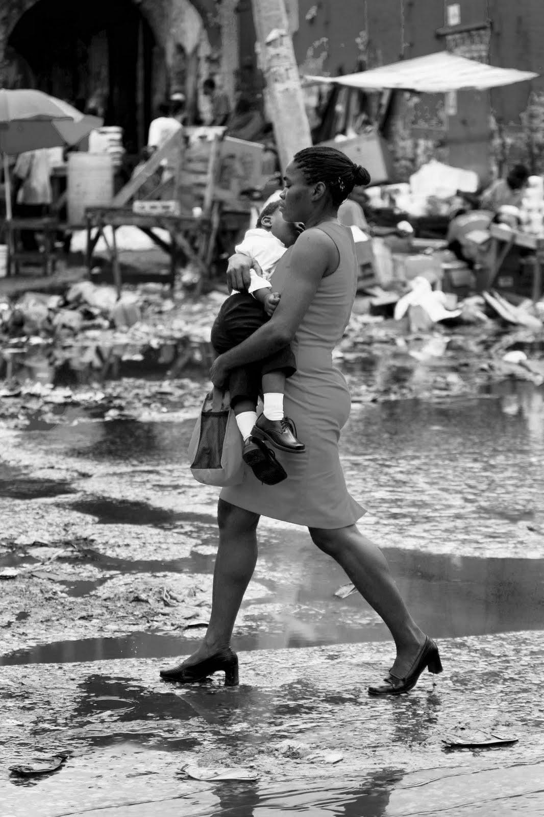 Débris d'Haïti