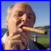 Rush Limbaugh the Blowhard