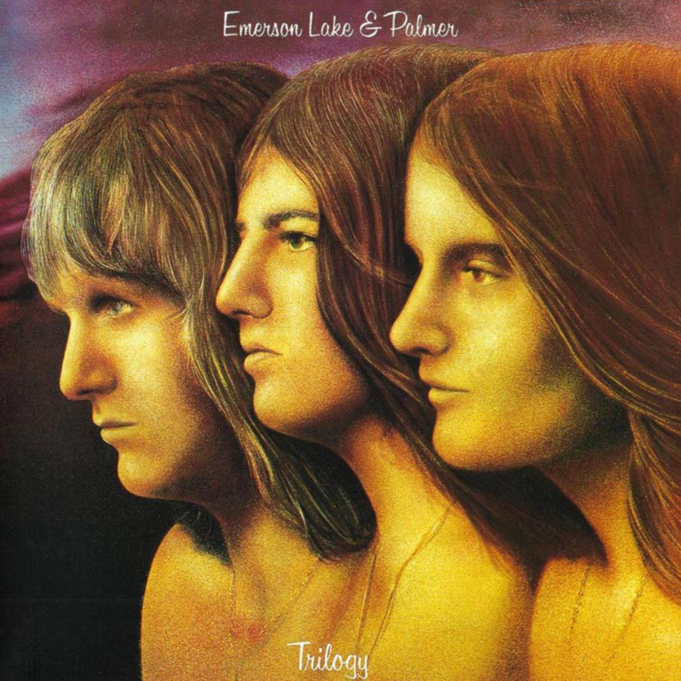 Emerson. Lake and Palmer - Trilogy album cover