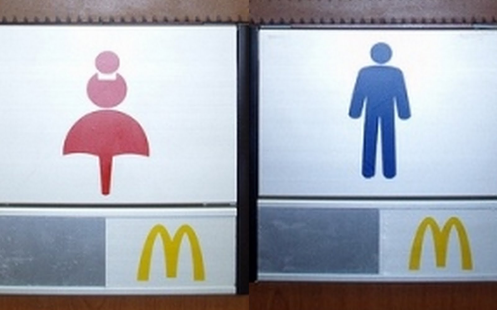 Bathroom Signs South Africa go where? sex, gender, and toilets - sociological images