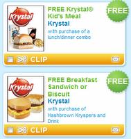 photograph regarding Krystal Printable Coupons named 3 Printable Krystal Discount codes