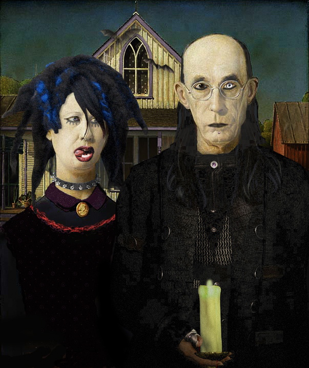 Princess Anne County American Gothic