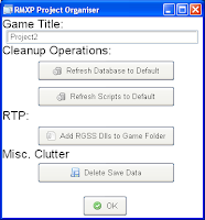 Project Organiser (RMXP) - Fig. 2