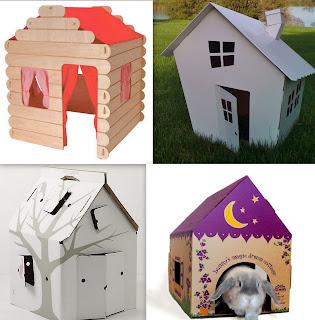 Как сделать дом из картона для детей своими руками 19