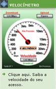 Medidor de velocidade para Internet