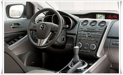 2010 mazda cx7 diesel car interior