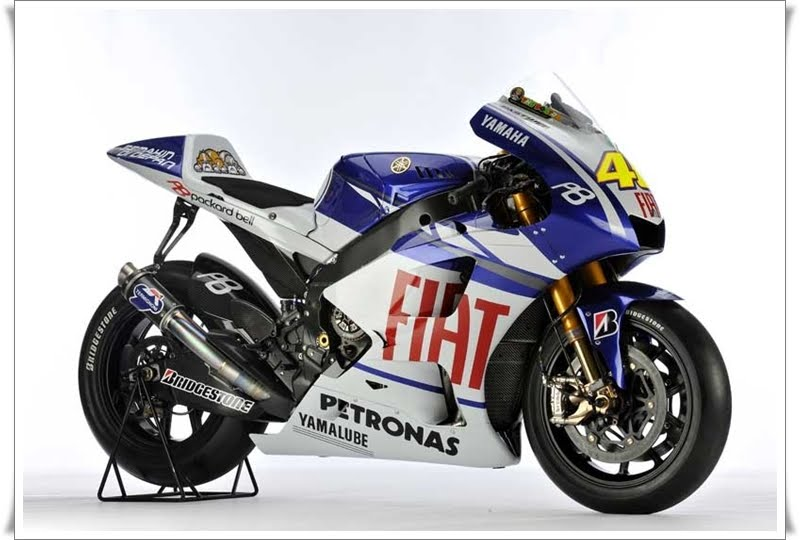 fiat yamaha wallpaper. 2010 Fiat Yamaha YZR M1 First