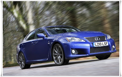 2011 lexus is f sporty car