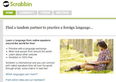 german blog language exchange partner