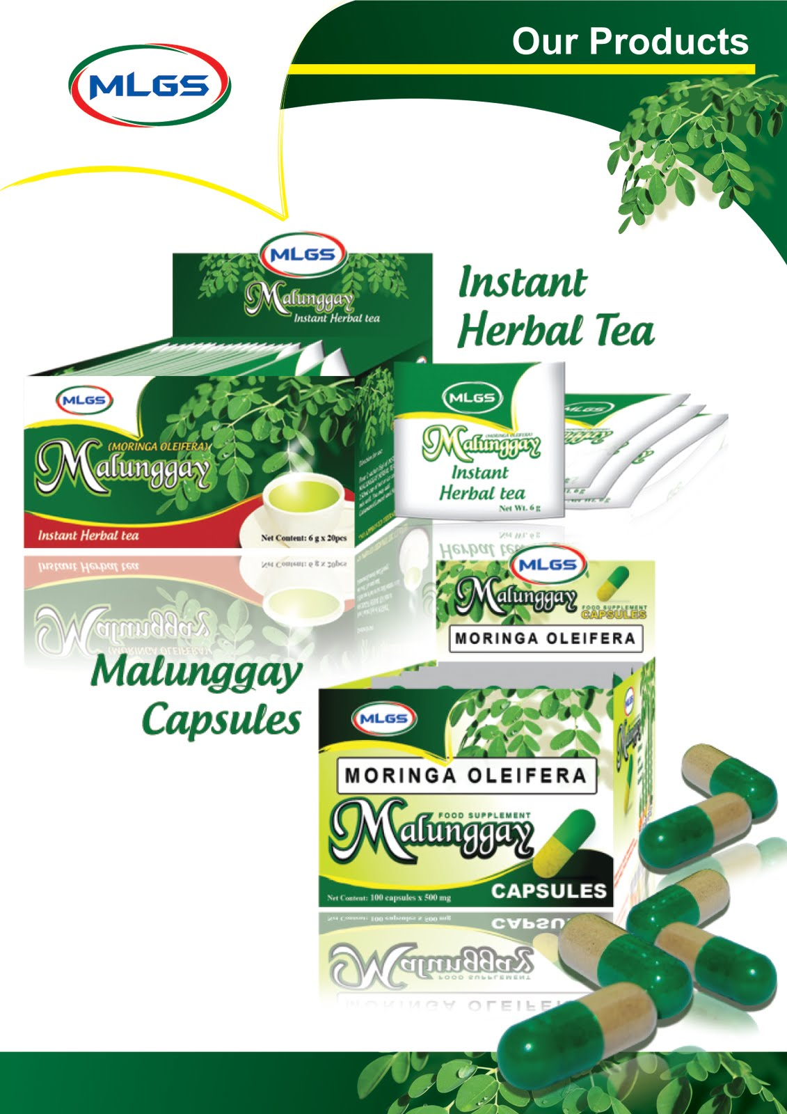 Herbal products logo
