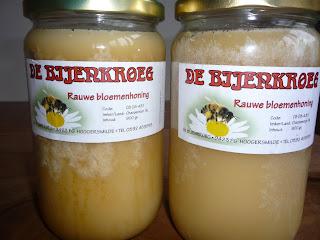 biologische koudgeslingerde honing