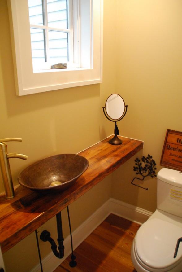 Inspiration: Half Bathrooms  Dans le Lakehouse