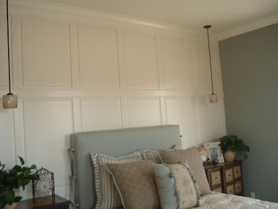 White Wood Paneling wainscoting beadboard