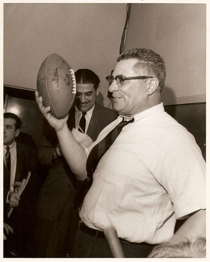 vince lombardi is one of football Now, the foundation bearing his name and one of the country' milwaukee and madison, wis, may 3, 2018 /prnewswire/ -- colon cancer cut short the life of legendary football coach vince lombardi at .