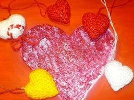 Kleine 3D Herzen