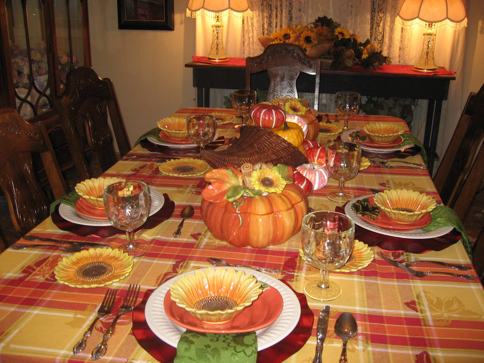 Thanksgiving Tablescape And Tea Table Lady Katherine Tea