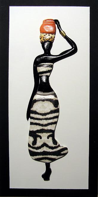 CUADRO  AFRICANA ZEBRA