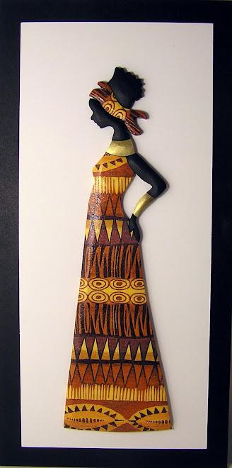 CUADRO AFRICANA GUARDA
