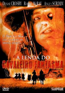 Filme Poster A Lenda do Cavaleiro Fantasma DVDRip XviD & RMVB Dublado