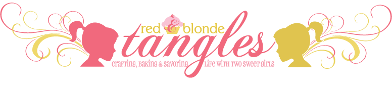 Red &  Blonde Tangles