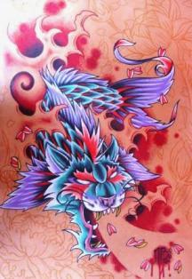 El significado de tu tatuaje aqui tienes el for Carpa koi negra