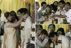 Shashi Tharoor - Sunanda Pushkar  Wedding picture