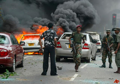 Bomb Blast in Sri Lanka