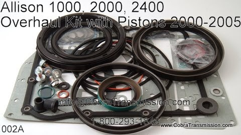 Cobra Transmission Parts 1 800 293 1848 Allison 1000