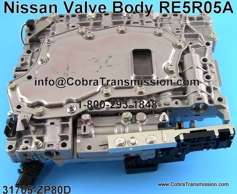 Cobra Transmission Parts 1 800 293 1848 Tcm And Valve Body Joined Re5r05a