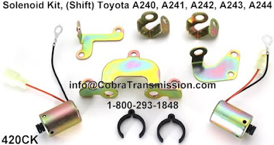 A 240 A241 A242 A244 Toyota Kit Solenoid Shift a245e transmission wiring diagram toyota 4t60e transmission 4T45E Transmission Parts Diagram at gsmx.co