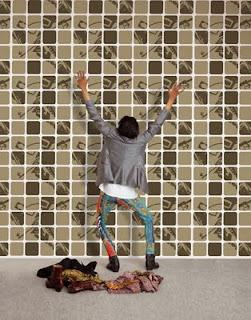 La bella reforma empapelar sobre gotel - Papel pintado sobre gotele ...