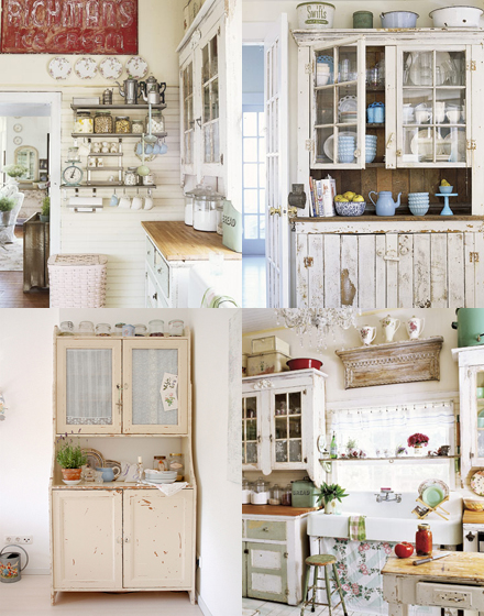 Love lilac dream kitchen for Shabby chic kitchen designs