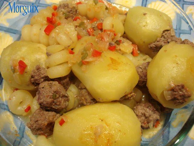 Patatas rellenas en olla r pida dos versiones - Patatas en olla rapida ...