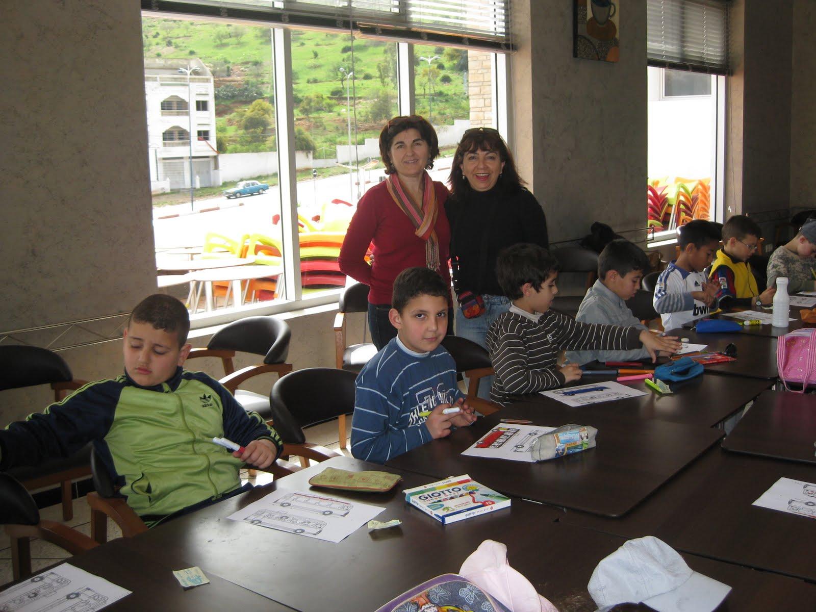 Ie melchor de jovellanos alhucemas aaee visita a la for Educacion exterior marruecos