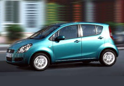 new car release in indiaCARUSEXLUSIVE MARUTI RITZ SPLASH released in india stills