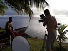 Ken Sigrah making Banaban documentary for Austria TV