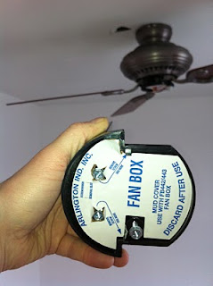 ceiling fan box
