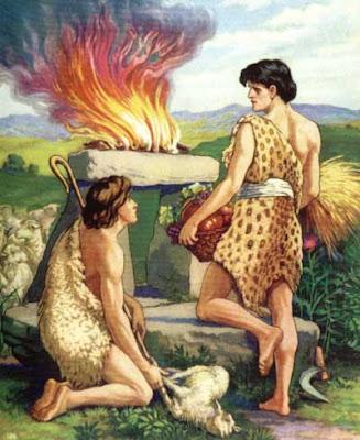 HOLY BIBLE : Hauv Paus ( piav txog Tswv Ntuj tsim lub ntuj tsim lub teb. 1 : 1 - 31 + 2 : 1 - 4. ) Cain+et+Abel