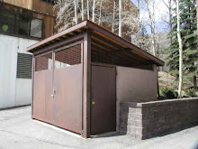 trash enclosure in vail, co