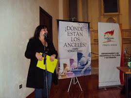 Marcela Reyes H. en representación  del Departamento de Cultura
