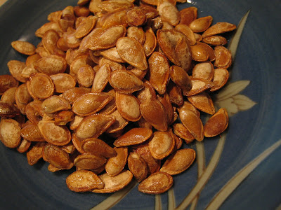 Recipe Roasted Pumpkin Seeds by UMAMI - What's for dinner?