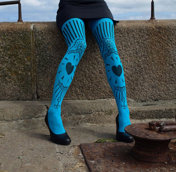 unique eye-catching tights Fashion