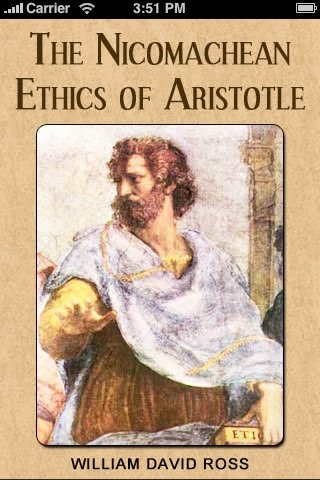 happiness and the good in humanity in nichomachean ethics a book by aristotle Nicomachean ethics analysis aristotle defining the end or good of humanity by in the nichomachean ethics, aristotle's view is that happiness consists.