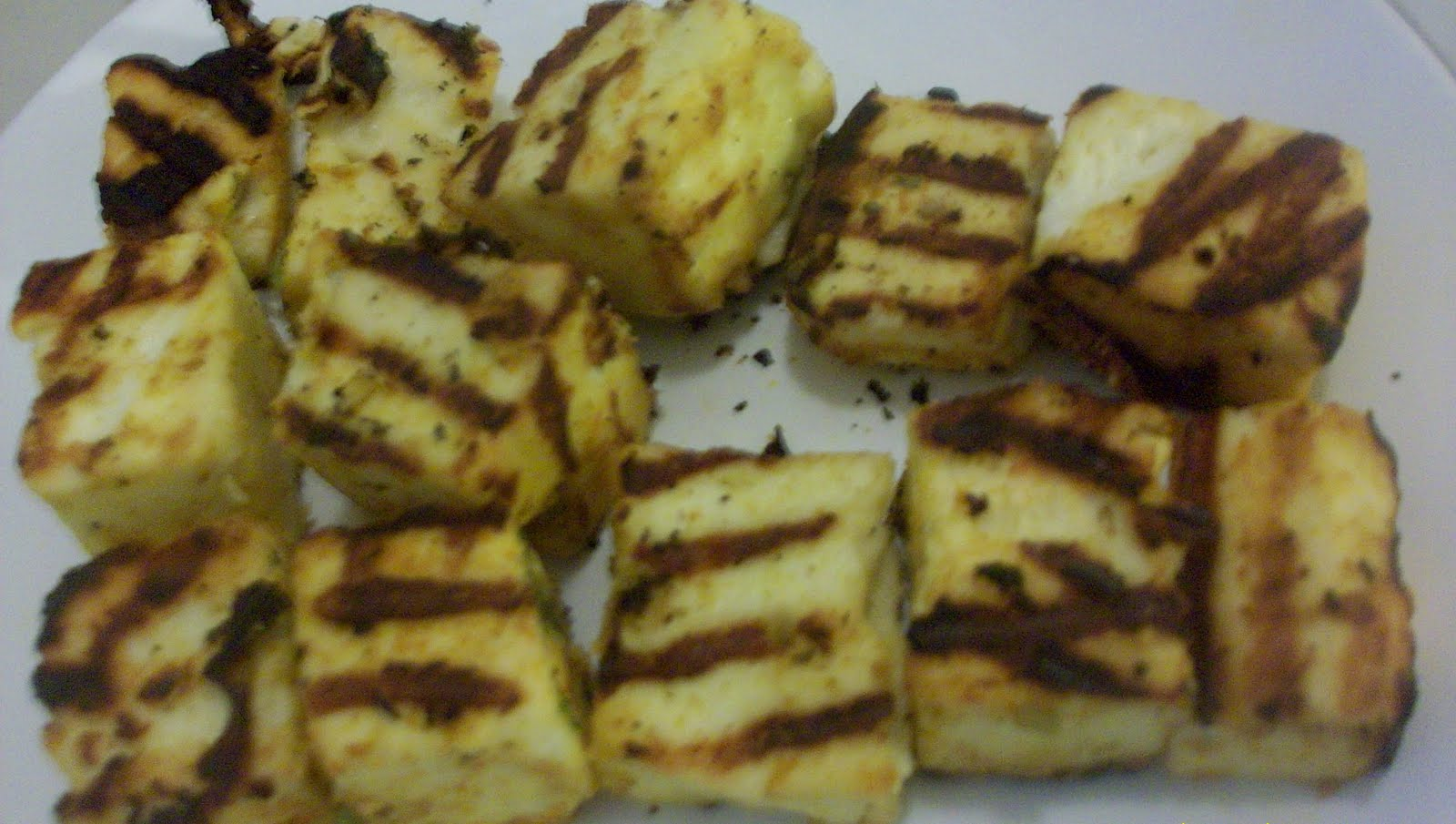Flavors....Simply Spice it Up!!!: Grilled cottage cheese