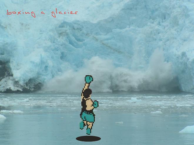 boxing a glacier