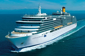 Grandi navi costa deliziosa pronta a febbraio 2010 for Costa pacifica piano nave