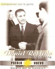 Folleto de la campaña de Daniel Robledo para Intendente 2003