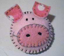 Piggy Felt Pin Tutorial