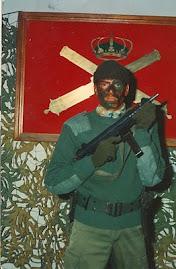 CABO 1º MANUEL LUENGO JARAMILLO, SEVILLA. 82/4º. GAAAL Nº 2 y PLM IIº Gº DEL RACA 14.