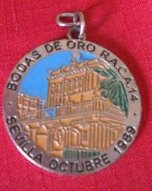 LLAVERO BODAS DE ORO RACA 14.